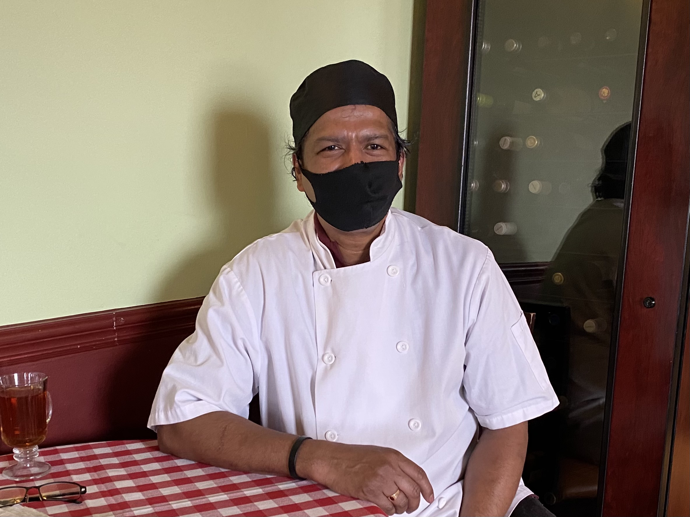 Dolce Family Ristorante Chef Suthan