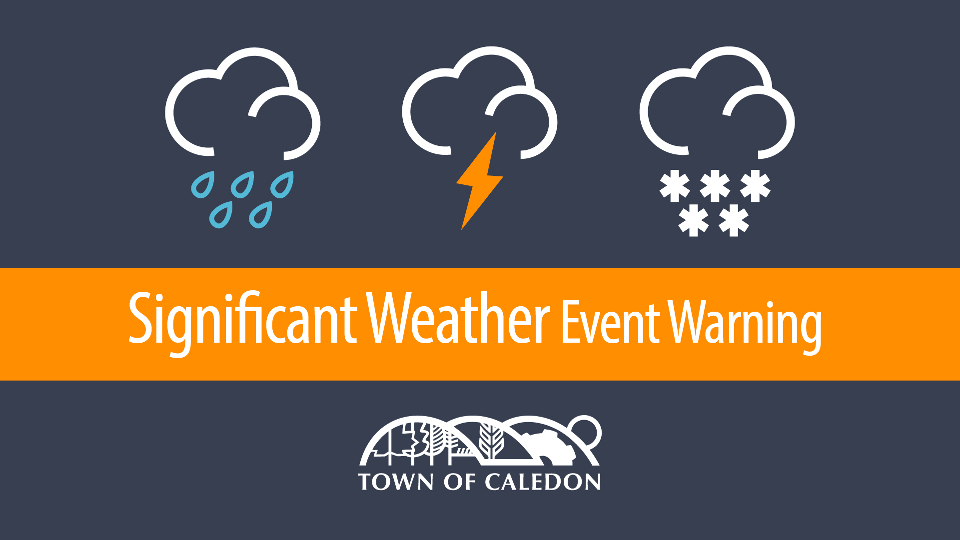 Significant Weather Event notice
