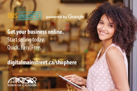Digital Main Street Shop Here program