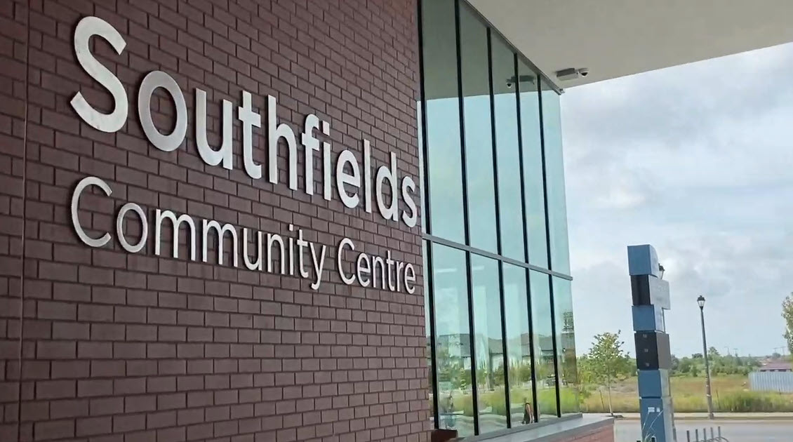 Southfields Community Centre sign