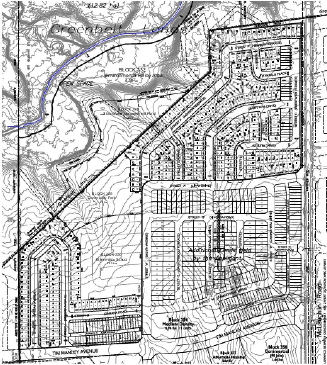 Site Plan for 0 McLaughlin Road