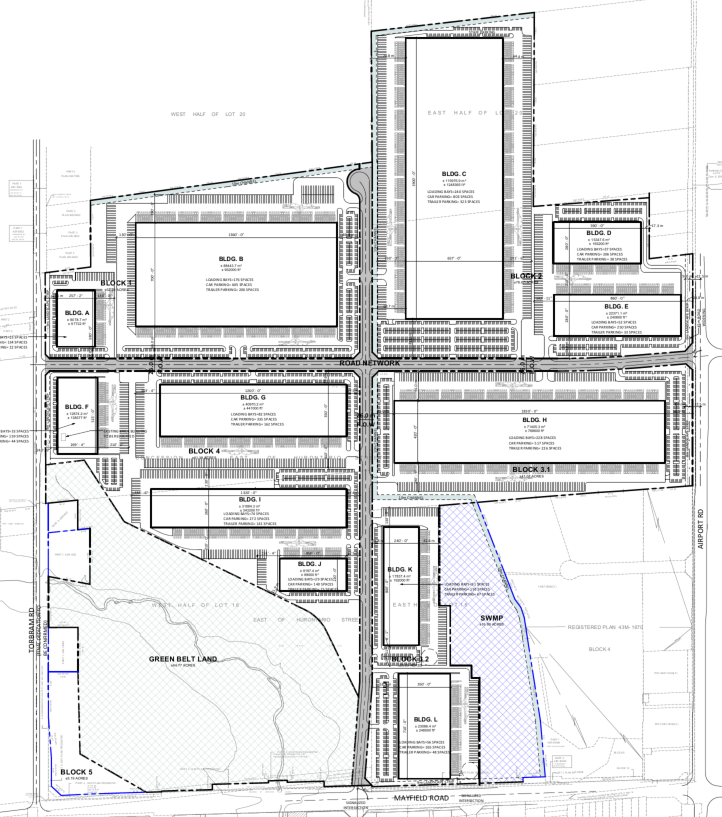 Site Plan for Subject Property