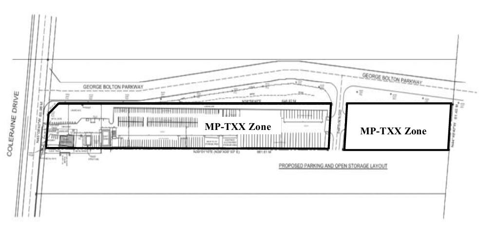 Site Plan for 12423 Coleraine Dr. and 0 Simpson Rd.