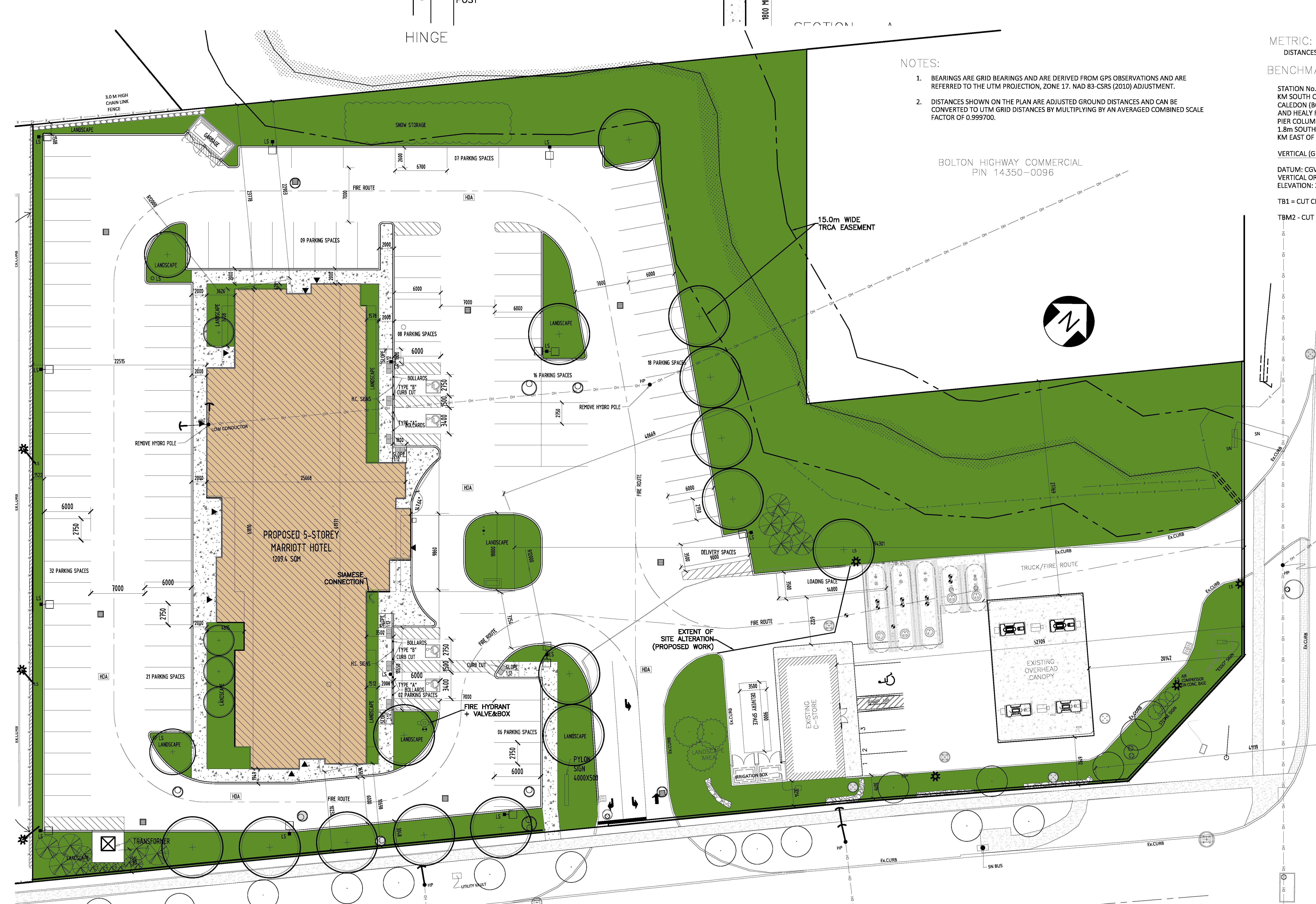 Site Plan for 12476 highway 50