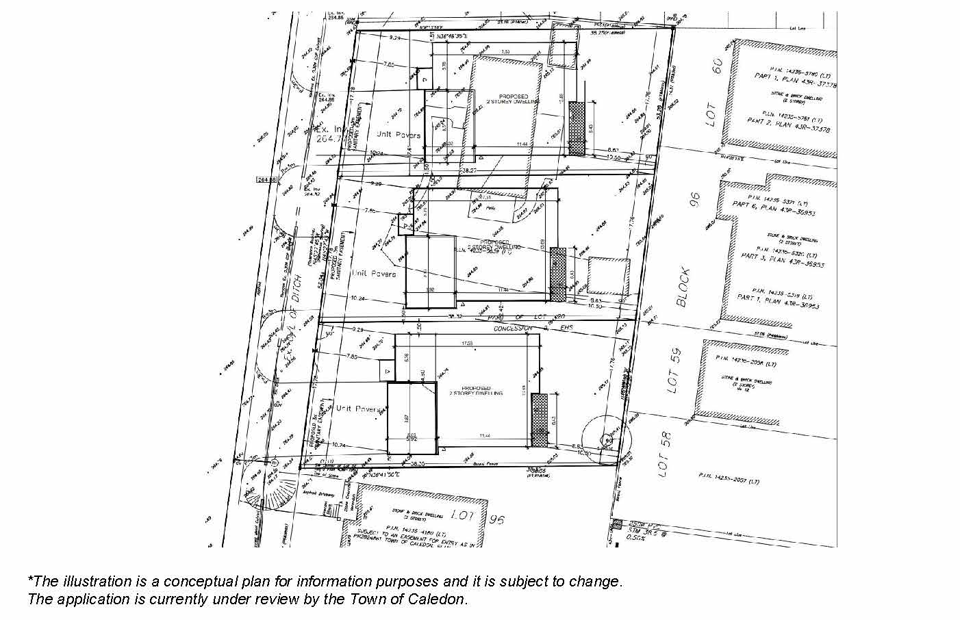 Site plan for 12507 Old Kennedy Road