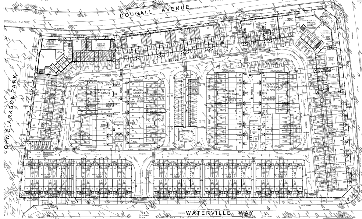 Site Plan for 0 Kennedy Road