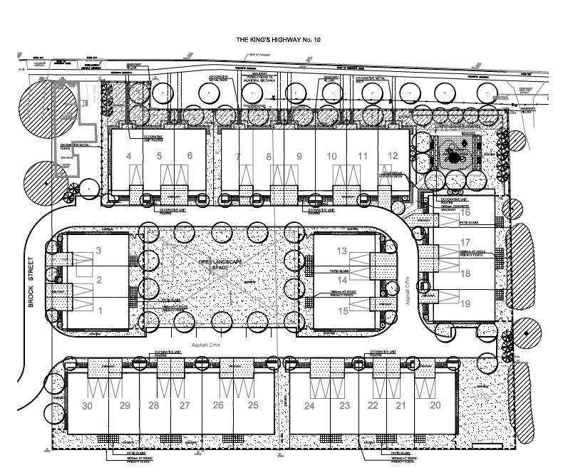 Site Plan for 0 and 18314 Hurontario Street